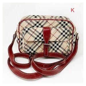 Authentic Burberry Crossbody Bag